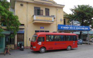 Unser Bus nach Hai Phong
