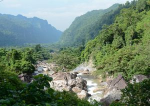 Fahrt zurück nach Phong Nha, am Oberlauf des Son River