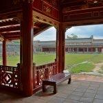 In der Zitadelle von Hue