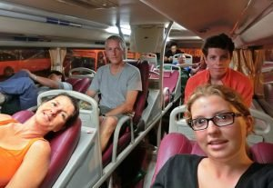 Im Schlafbus nach Nha Trang