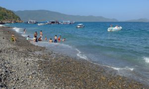 Badestrand auf der Insel Hon Mieu