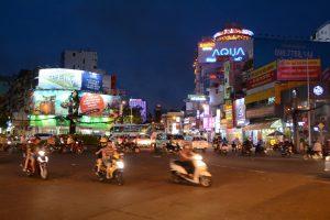 Nachts in Saigon