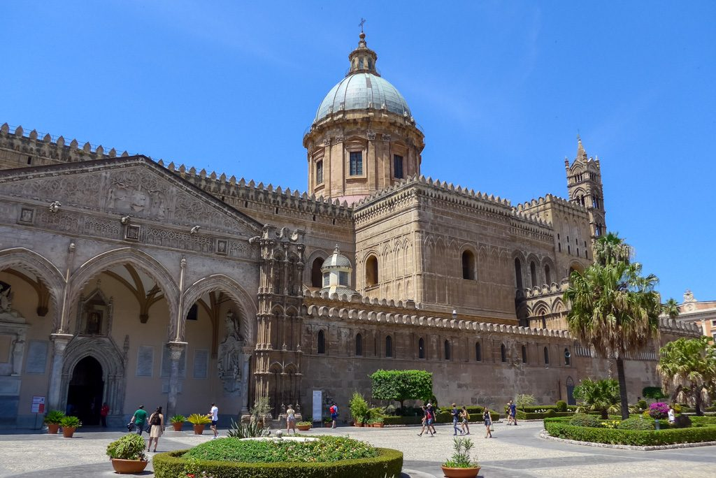 Radtour: Cathedrale in Palermo