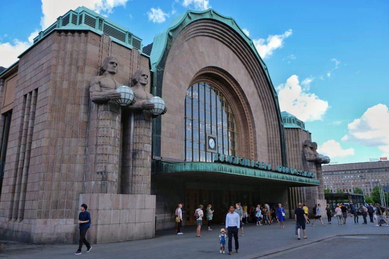 Helsinki, Hauptbahnhof